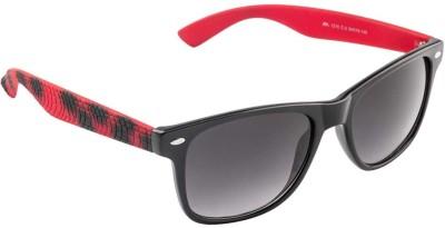Farenheit 1210-C2 Wayfarer Sunglasses(Grey)