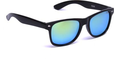 Beqube BLG01 Wayfarer Sunglasses(Green)