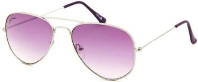 Cool Eyes Classic Lavender Aviator Sunglasses
