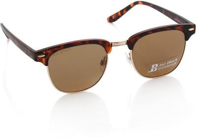 Joe Black JB-581-C2 Round Sunglasses(Brown)