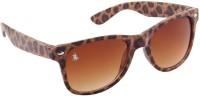 Royal County Of Berkshire Polo Club PW-1 Wayfarer Sunglasses(Brown)