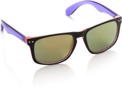 Joe Black JB-1015-C6 Wayfarer Sunglasses(Green)