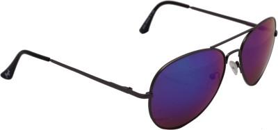 Floyd 30252_G.MTL_DRK_ICE_MERCURY Aviator Sunglasses(Blue)