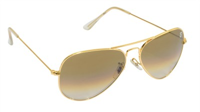 Djorn Exclusive Mineral Glass Aviator Sunglasses