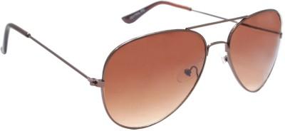 Sellebrity Elegant Classic Copper Aviator Sunglasses Aviator Sunglasses