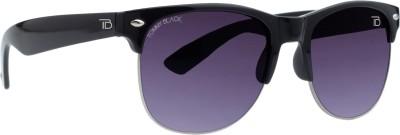 Tommy Black 542 Wayfarer Sunglasses