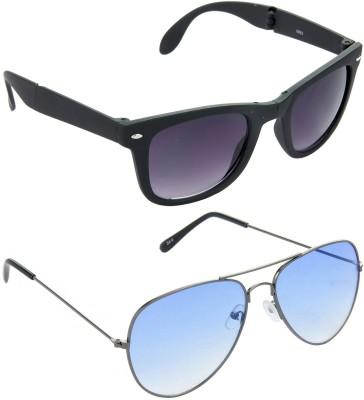 Hrinkar Combo Pack Wayfarer Sunglasses