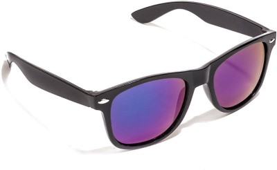 New Zovial Blue-Mercury Wayfarer Sunglasses