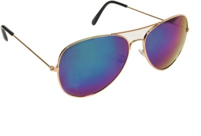 Joe Martin RV428-C6 Aviator Sunglasses(Blue)