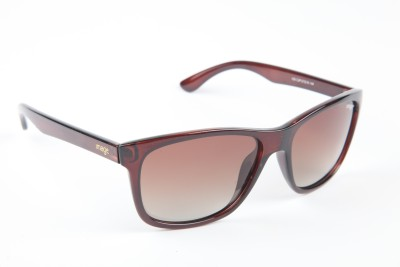 IMAGE IM-430-C3P Wayfarer Sunglasses(Brown)