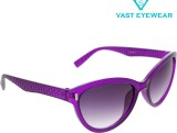 Vast WOMENS _3075_PIN_CATEYE_PURPLE Cat-...