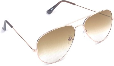 6by6 SG450 Aviator Sunglasses(Brown)
