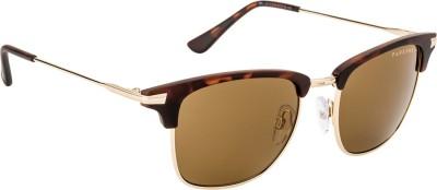 Farenheit FA-2313-C3 Wayfarer Sunglasses(Brown)