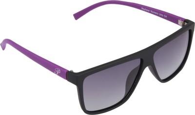 Panache Wayfarer Numero Uno C4-Grey Lens Wayfarer Sunglasses(Grey)