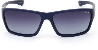 IDEE IDS2008C4PSG Rectangular Sunglasses(Grey)