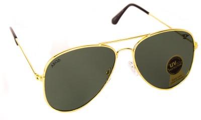 Abqa Original Hi Quality Hawk Straight Frame Aviator Sunglasses