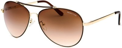 Kenneth Cole KC1226@6033F Aviator Sunglasses(Brown)
