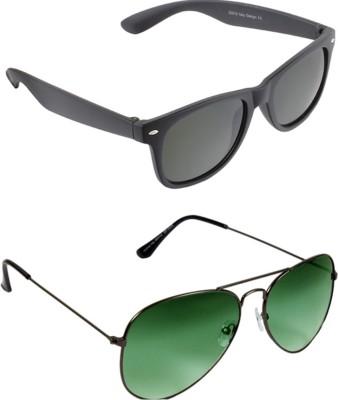 Fedrigo Aviator, Wayfarer Sunglasses