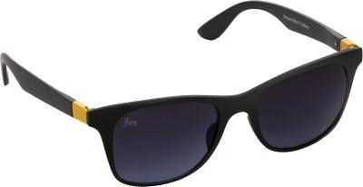 Floz 007SM Black & Yellow Wayfarer Sunglasses. Rectangular Sunglasses