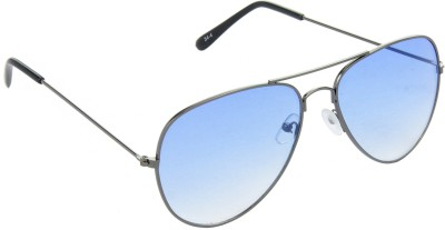 Red Leaf RD-BX35_1 Aviator Sunglasses(Blue)