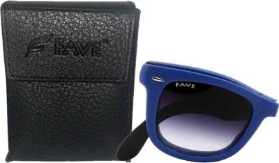 Fave FV015F04U Wayfarer Sunglasses(Blue)