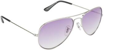IMAGE S403L-C6 Aviator Sunglasses(Violet)