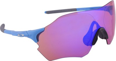 Oakley EVZero Range MatteSkyBlue w/PrizmTrail  Sports Sunglasses at flipkart