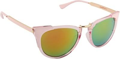 Farenheit 1807 Cat-eye Sunglasses(Yellow)