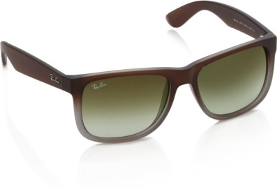 Ray-Ban 0RB4165 854/7Z Wayfarer Sunglasses(Green)