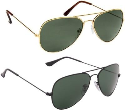 Abster Combo Aviator Sunglasses