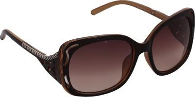 Pede Milan PMSG155 Wayfarer Sunglasses(Brown)