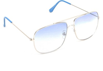 6by6 SG538 Rectangular Sunglasses(Blue)