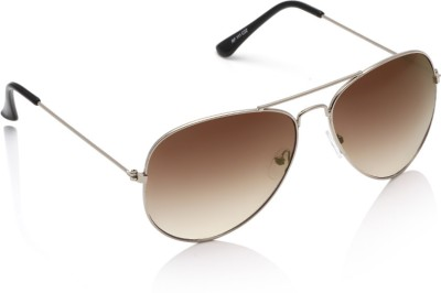 Rockford RF-111-C22 Aviator Sunglasses(Brown) at flipkart