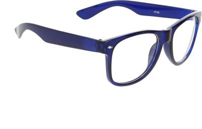 8fc36546e63 Vast Computer Eye Protection 7 layer Anti Glare Transparent UV Protection  Wayfarer Sunglasses(Clear)
