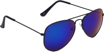 6by6 SG1461 Aviator Sunglasses(Blue)