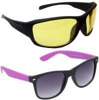 Red Leaf RCMB367_1 Sports Wayfarer Sunglasses(For Boys)