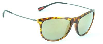 IDEE IDEE-2028-C7 Wayfarer Sunglasses(Multicolor, Golden)