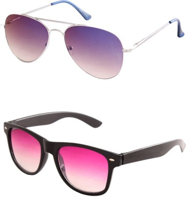 99DailyDeals Aviator, Wayfarer Sunglasses
