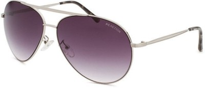 Kenneth Cole KC1262@6308A Aviator Sunglasses(Violet)