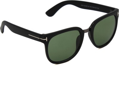 6by6 SG1155 Wayfarer Sunglasses(Green)