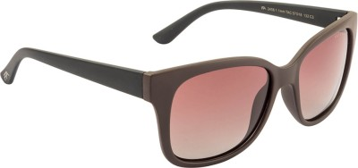 Farenheit FA-2406P-C3 Wayfarer Sunglasses(Brown)