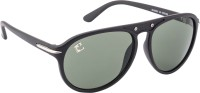 Clark N Palmer CNP-RB-629 Aviator Sunglasses(Green)