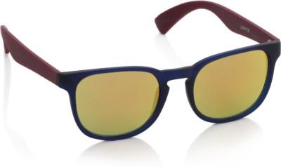 Joe Black JB-511-C4 Wayfarer Sunglasses(Orange)