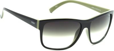 IDEE IDEE-1993-C3 Wayfarer Sunglasses(Green)