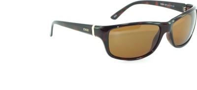 IDEE IDEE-2006-C2-P Wrap-around Sunglasses(Brown)