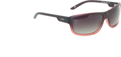 IDEE IDEE-2010-C4-P Wrap-around Sunglasses(Black)