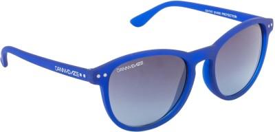 Danny Daze D-1712-C5 Round Sunglasses(Black)