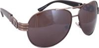 Sushito JSMFHGO0516 Aviator Sunglasses(Brown)