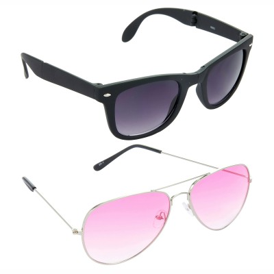 Red Leaf RCMB251_1 Wayfarer, Aviator Sunglasses(For Boys)