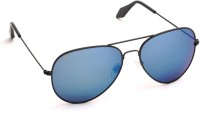 Eyeloveyou 1293 C14 L13 Aviator Sunglasses(Blue)